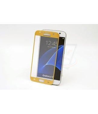 xlmobiel.nl Samsung Galaxy S7 - Glas Screen protectors - Goud (8719273209127)