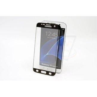 Samsung Galaxy S7 Edge - Glas Screen protectors - Zwart