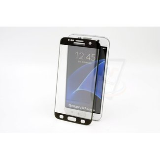 xlmobiel.nl Samsung Galaxy S7 Edge - Glas Screen protectors - Zwart