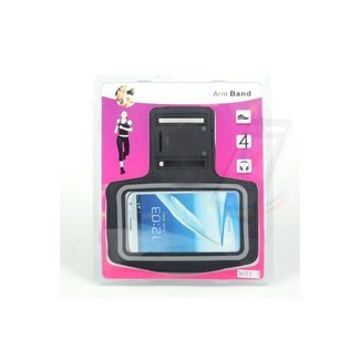 xlmobiel.nl Samsung Galaxy Note 3 - N9000 - Sportief Armband - Zwart