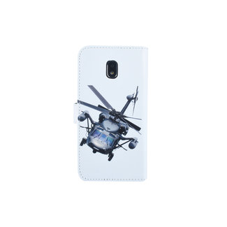 xlmobiel.nl Samsung Galaxy J3 (2017) Pasjeshouder Print Booktype hoesje - Magneetsluiting