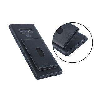 UNIQ Accessory UNIQ Accessory Galaxy Note 9 Kunstleer Backcover hoesje met portemonnee - Zwart