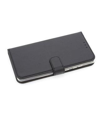 xlmobiel.nl Huawei  Mate 20 Pasjeshouder Zwart Booktype hoesje - Magneetsluiting - Kunststof;TPU
