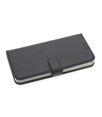xlmobiel.nl Huawei  Mate 20 Lite Pasjeshouder Zwart Booktype hoesje - Magneetsluiting - Kunststof;TPU