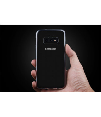 Backcover voor Galaxy S10e - Transparant