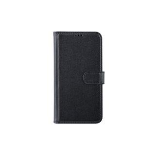 xlmobiel.nl Samsung Galaxy M10 Pasjeshouder Zwart Booktype hoesje - Magneetsluiting - Kunststof;TPU