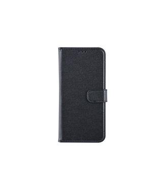 xlmobiel.nl Samsung Galaxy M30 Pasjeshouder Zwart Booktype hoesje - Magneetsluiting - Kunststof;TPU