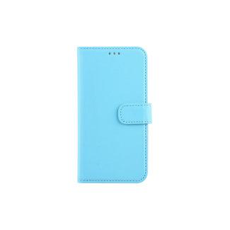 xlmobiel.nl Samsung Galaxy J5 (2017) Pasjeshouder Blauw Booktype hoesje - Magneetsluiting - Kunststof;TPU