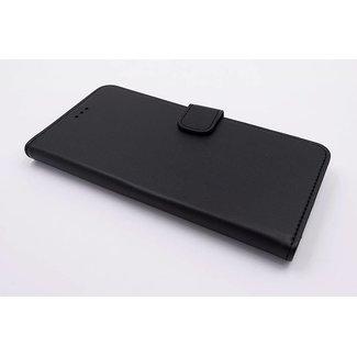 xlmobiel.nl Huawei  P10 Pasjeshouder Zwart Booktype hoesje - Magneetsluiting