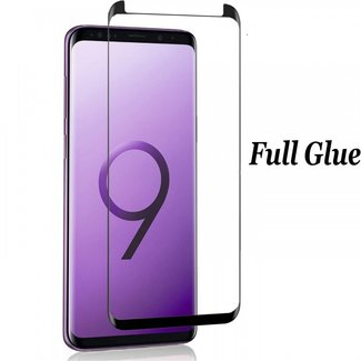 xlmobiel.nl Tempered glass Full Glue voor Galaxy S8 Plus (S8+) - Zwarte rand