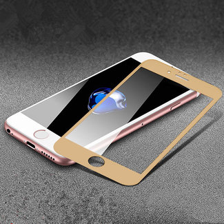 xlmobiel.nl Screenprotector voor Apple iPhone 7; Apple iPhone 8 met optimale touch gevoeligheid-Goud