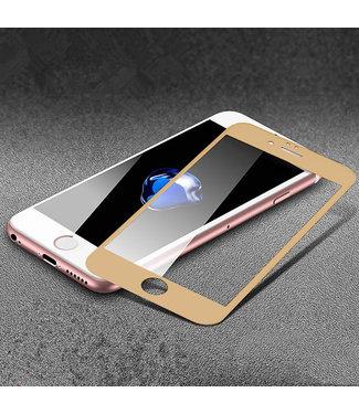 xlmobiel.nl Glas screenprotector H9 4D voor Apple iPhone 7G/8G - Goud (8719273251607)