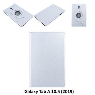 Samsung Galaxy Tab A 10.5 (2018) (T590) Draaibare tablethoes Grijs voor bescherming van tablet