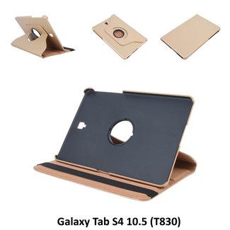 Samsung Galaxy Tab S4 10.5 Draaibare tablethoes Goud voor bescherming van tablet