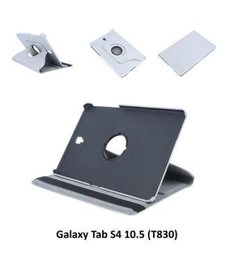 xlmobiel.nl Samsung Galaxy Tab S4 10.5 Draaibare tablethoes Grijs voor bescherming van tablet