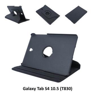 Samsung Galaxy Tab S4 10.5 Draaibare tablethoes Zwart voor bescherming van tablet