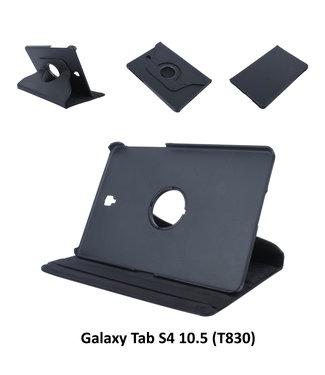 xlmobiel.nl Samsung Galaxy Tab S4 10.5 Draaibare tablethoes Zwart voor bescherming van tablet