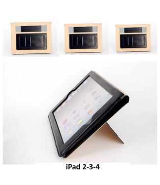 xlmobiel.nl Apple iPad 2;Apple iPad 3;Apple iPad 4 Smart Tablethoes Zwart voor bescherming van tablet