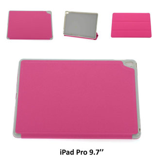 xlmobiel.nl Apple iPad Pro 9.7  Smart Tablethoes Hot Pink voor bescherming van tablet