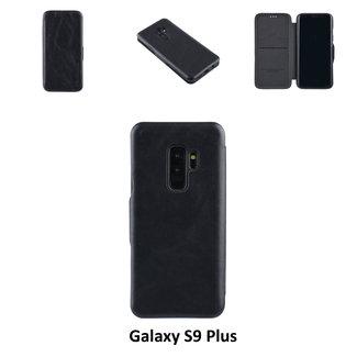 UNIQ Accessory Samsung Zwart pasjeshouder Book Case voor Galaxy S9 Plus