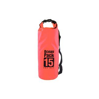 xlmobiel.nl Rode Droogzak - Dry Bag - waterdichte tas 15L