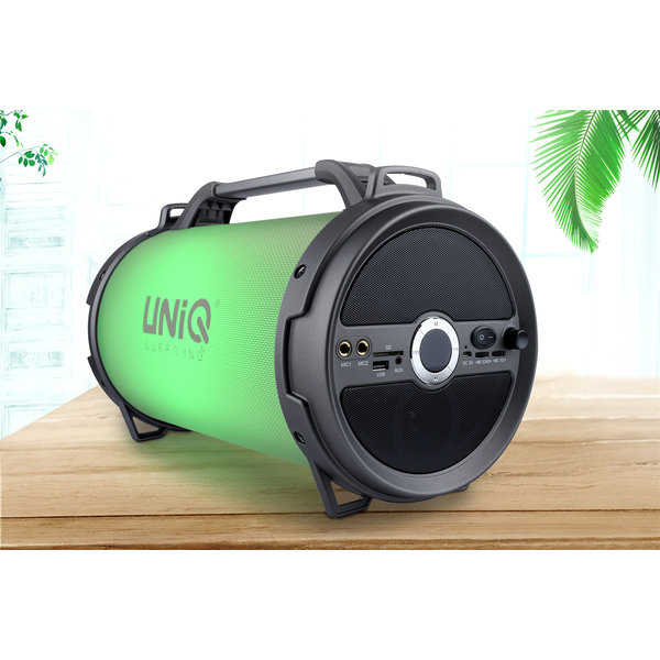 Ongekend UNIQ Tune Bluetooth Speaker (Karaoke LED Show) - Grijs - XLmobiel.nl AT-09