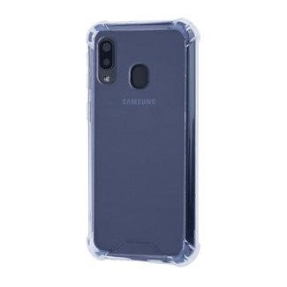 xlmobiel.nl Samsung Galaxy A40 Shockproof Transparant Backcover hoesje - Schermbescherming - TPU