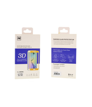 Tempered glass voor Galaxy S7 Edge Transparant