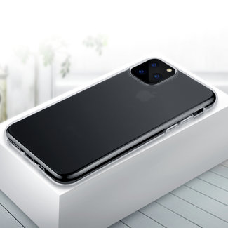iPhone 11 pro Transparant Silicone Slim Backcover hoesje -  TPU