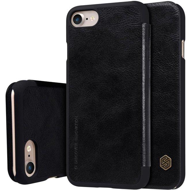 Nillkin QIN Wallet Book Case Zwart voor Apple iPhone 7 / iPhone 8