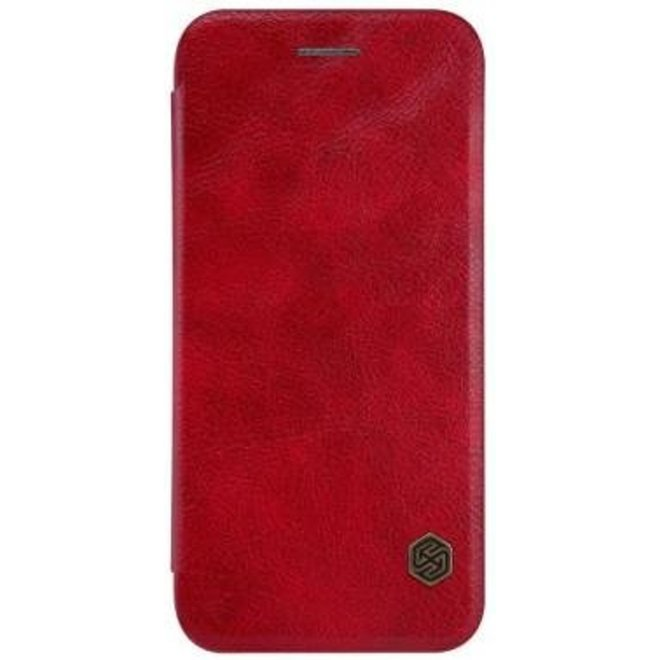 Nillkin Qin Leather slim booktype iPhone 7 / 8 rood