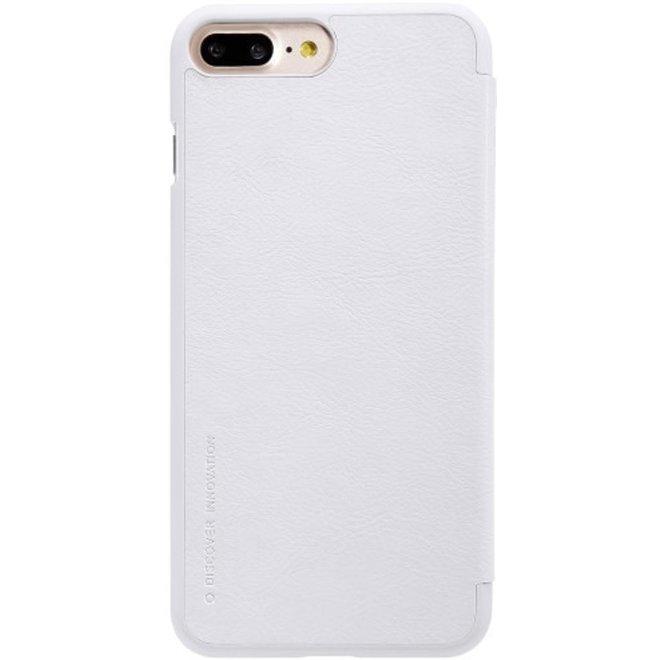 Nillkin QIN Wallet Book Case Wit voor Apple iPhone 7/8 Plus
