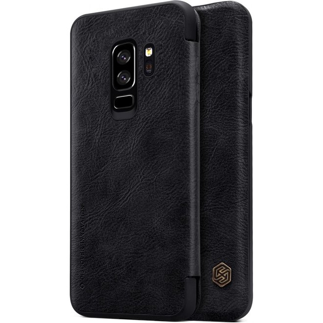 Nillkin Qin Series Leather Case Samsung Galaxy S9+ Plus - Black