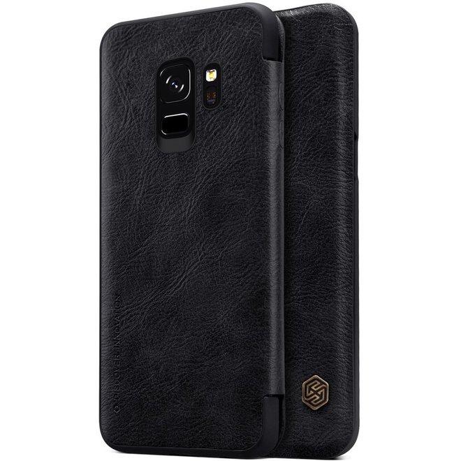 Nillkin Qin Series Leather Case Samsung Galaxy S9 - Black