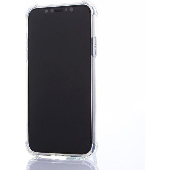 Let op type!!  iPhone X schokbestendig beschermend TPU back cover Hoesje (transparant)
