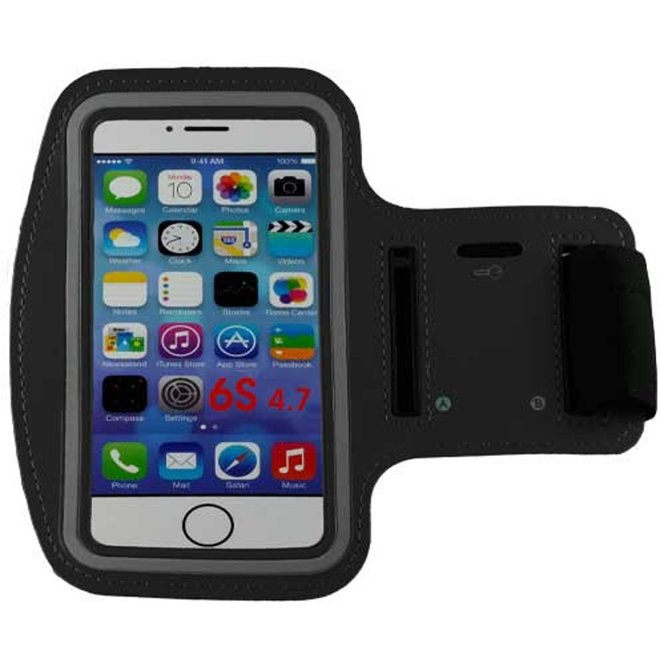 Sportarmband Apple iPhone 6/6S en iPhone 7 zwart