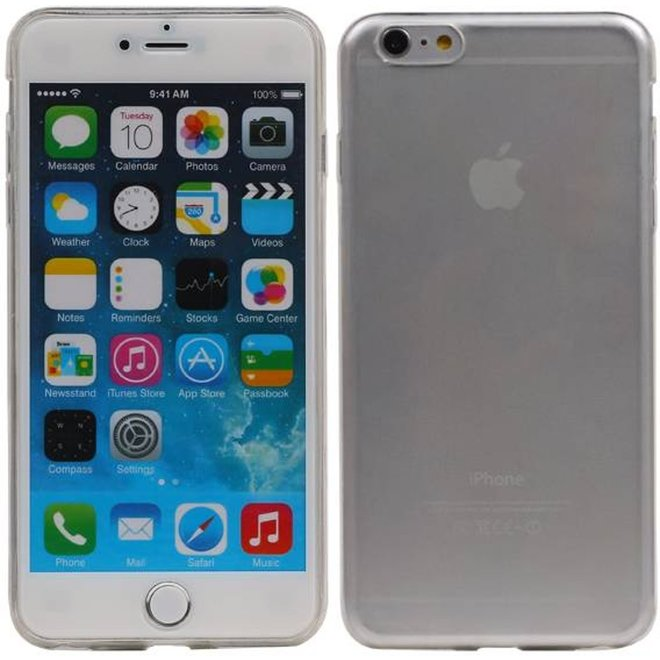 Transparant TPU Hoesje voor iPhone 6 Plus / 6S Plus Ultra-thin