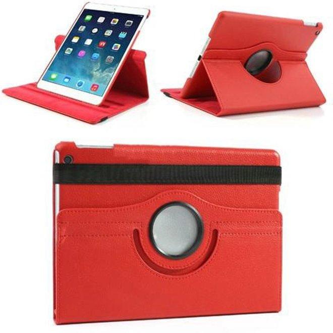 iPad Air 2 360 rotation case rood