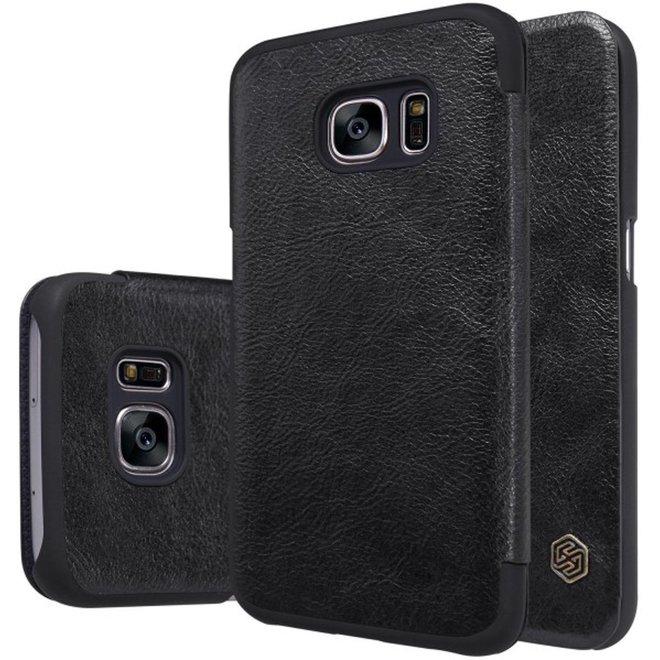 Nillkin Qin Series Leather Case Samsung Galaxy S7 - Black
