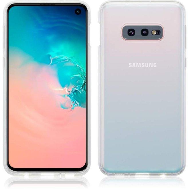Hoesje voor Samsung Galaxy S10E, gel case, volledig doorzichtig