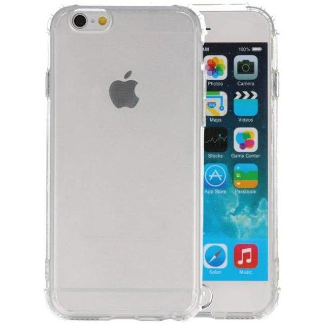 Schokbestendig TPU hoesje iPhone 6 / 6s Transparant