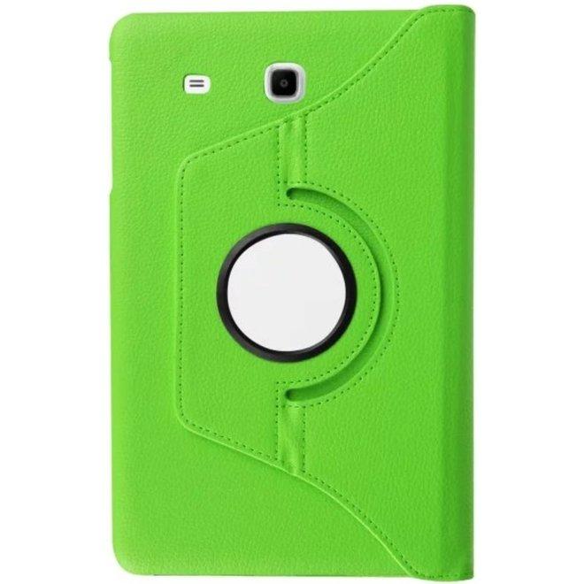 Samsung Galaxy Tab E 9.6 Hoesje Groen, 360 graden Draaibaar