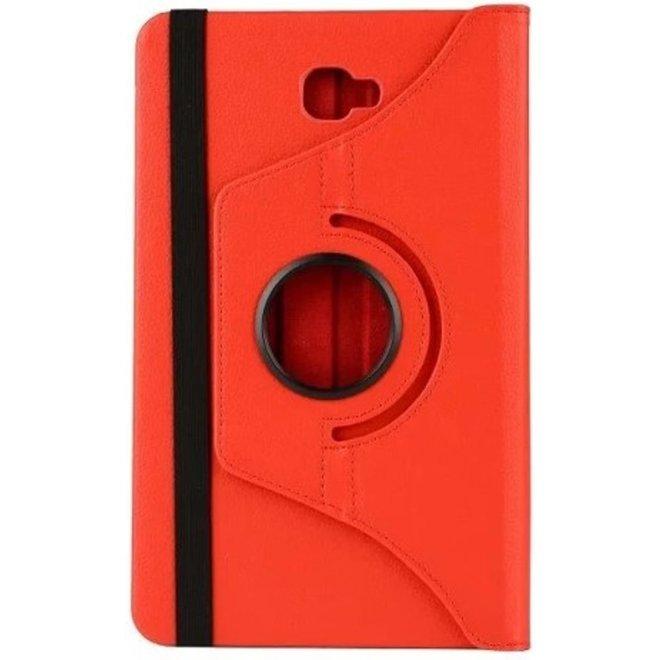Samsung Galaxy Tab A 10.1 (T580) Tablethoesje Rood Draaibaar