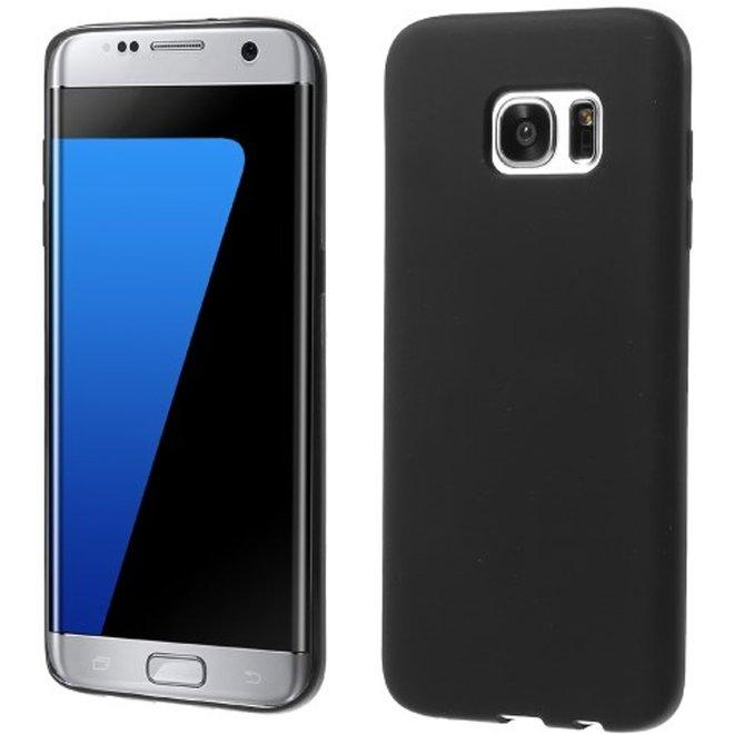Samsung Galaxy S7 Edge TPU Hoesje Zwart Mat, G935 (G935)