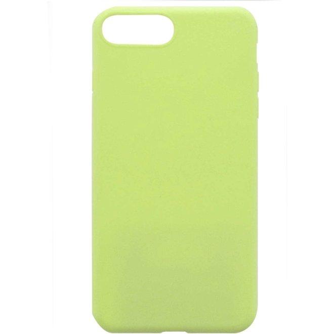 Apple iPhone 7 Plus | 8 Plus Flexibel TPU Hoesje Groen