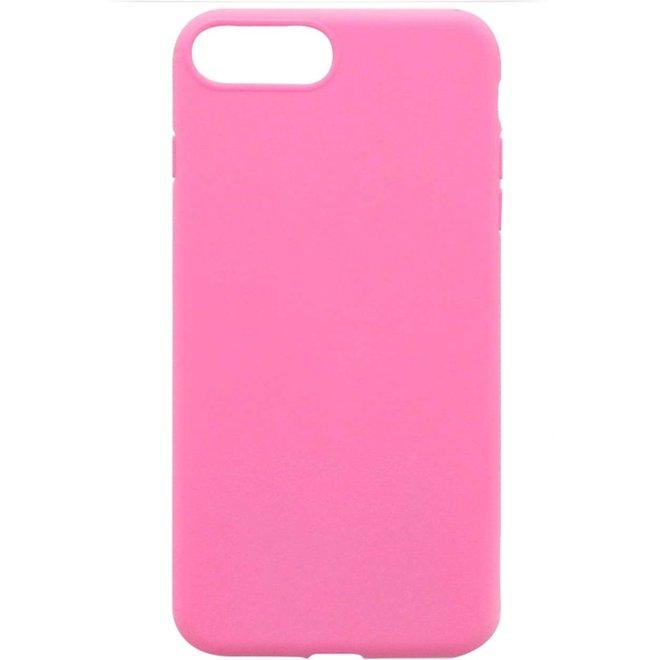 Apple iPhone 7 Plus | 8 Plus Flexibel TPU Hoesje Roze