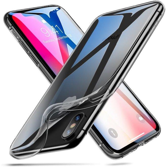 Apple iPhone X | Xs Hoesje Doorzichtig