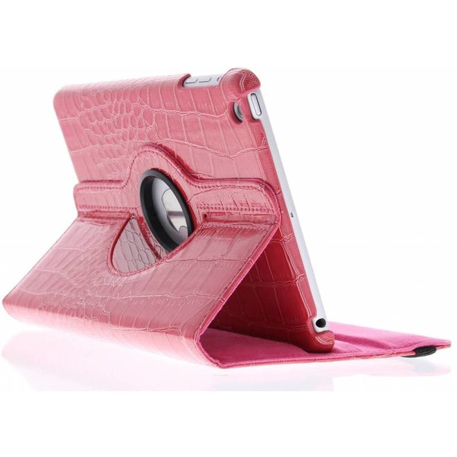 Merkloos 360° draaibare krokodil tablethoes iPad Mini / 2 / 3