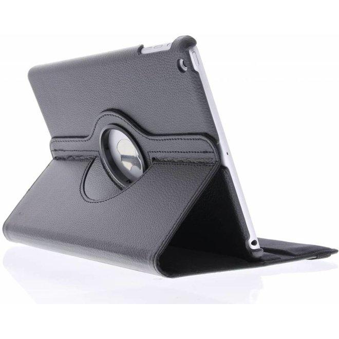 360 graden Draaibare Bookcase iPad Air tablethoes - Zwart