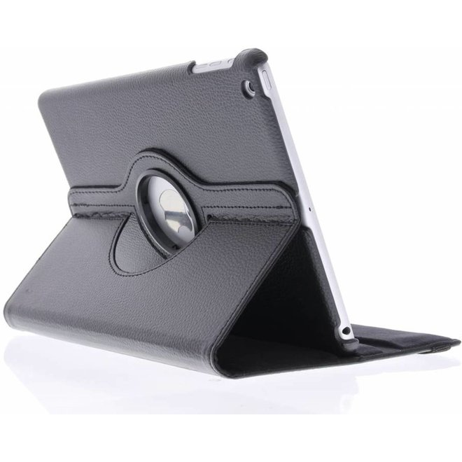 360° Draaibare Bookcase iPad Air tablethoes - Zwart
